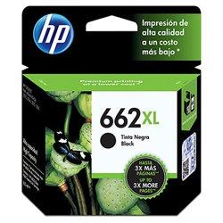 TINTA HP 662 XL CZ105AL DESKJET 1015/1515/2515/3515/3545/4645/2545/2645 ALTO REND. NEGRO (330 PAG)