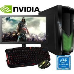 PC GAMER INTEL SEXTA GENERACIÓN NVIDIA GTX-750TI 2GB DDR5 8GB DDR4 MONITOR LED HD
