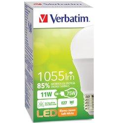 FOCO VERBATIM VB99864 LED CLASSIC BLANCA SUAVE 11W75W A 2700K 1055LM