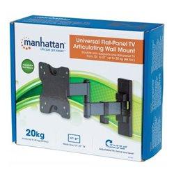 SOPORTE PARA MONITOR MANHATTAN P/PARED 13 A 27 PULG ARTICULACION DOBLE
