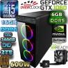 PC CORE I5-8600K 6 NÚCLEOS NVIDIA GTX-1060 6GB DDR5 16GB DDR4 SSD 2TB