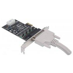 TARJETA SERIAL MANHATTAN PCI EXPRESS 4 PUERTOS