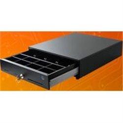 CAJON DE DINERO EC LINE JUNIOR EC-G5100-II-BLACK COMPARTIMENTOS BILLETES 4 MONEDAS 8