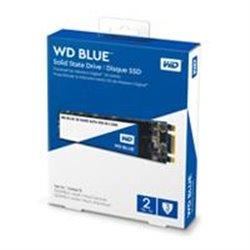 UNIDAD DE ESTADO SOLIDO SSD WD BLUE M.2 2280 2TB SATA 3DNAND 6GB/S 7MM LECT 540MB/S ESCRIT 500MB/S