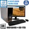 PC INTEL CORE I5-8400 6 NÚCLEOS MONITOR FULL HD SSD 1TB DDR4 8GB WIFI