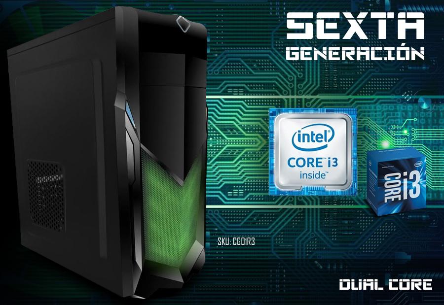 computadora gamer core i3 video 2gb ddr5