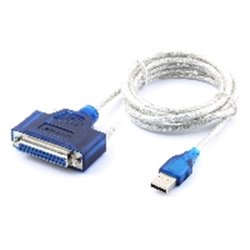 CABLE CONVERTIDOR SABRENT USB A PARALELO DB25 HEMBRA