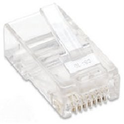 PLUG RJ45 CAT 5E INTELLINET UTP MULTIFILAR 100 PZAS