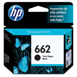 TINTA HP 662 CZ103AL DESKJET 1015/1515/2515/3515/3545/4645/2545/2645 NEGRO (120 PAG)