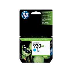 TINTA HP 920 XL CD972AL OFFICEJET 6000/6500 ALTO RENDIMIENTO CYAN (700 PAG)