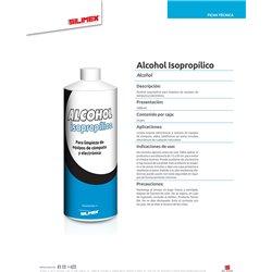 SILIMEX ALCOHOL ISOPROPILICO 1 LITRO
