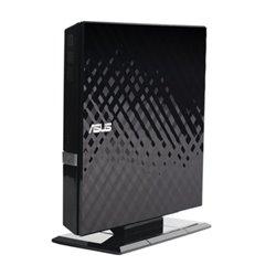 ASUS CD SDRW-08D2S-U/BLK LITE EXTERNO SLIM QUEMADOR DVD 8X USB NEGRO RETAIL