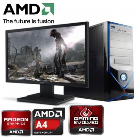 CPU GAMER AMD ATHLON 5350 4 NUCLEOS VIDEO RADEON HDMI 1TB MEMORIA 8GB