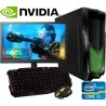 PC GAMER INTEL CORE I3 VIDEO NVIDIA GTX 2GB DDR5 MONITOR LED HD 1TB 8GB