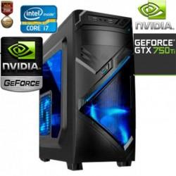 CPU GAMER INTEL CORE I7-4790 VÍDEO NVIDIA GTX 2GB DDR5 1TB MEMORIA 8GB
