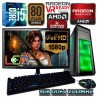 PC GAMER INTEL CORE I5-6500+RADEON RX-470 4GB DDR5 MONITOR FULL HD