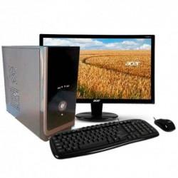 """PC INTEL CORE I5-4460 MONITOR LED HD 18.5"""" 1TB MEMORIA 4GB HDMI"""