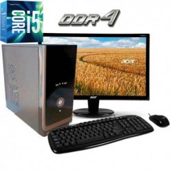 PC INTEL CORE I5-6500 SEXTA GENERACIÓN MONITOR LED HD 1TB MEMORIA DDR4 4GB