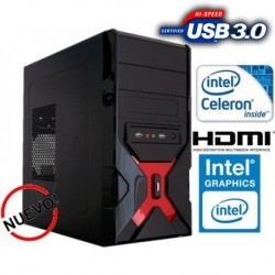 PAQUETE 5 CPU PARA CIBER INTEL CELERON 2 NÚCLEOS 2.4GHZ 160GB DDR3 2GB