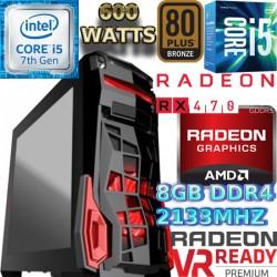 ULTRA CPU GAMER INTEL CORE I5-6500 VÍDEO RX-470 4GB DDR5 1TB 8GB DDR4