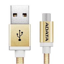 CABLE ADATA USB - MICRO USB 100CM AMUCAL-100CMK-CGD DORADO