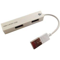 HUB USB V2.0 4 PUERTOS BROBOTIX BLANCO