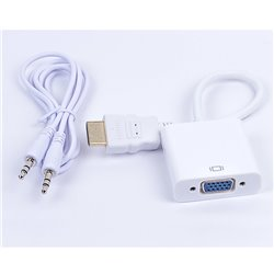 NACEB CB NA-235 CONVERTIDOR HDMI (MACHO) A VGA (HEMBRA)