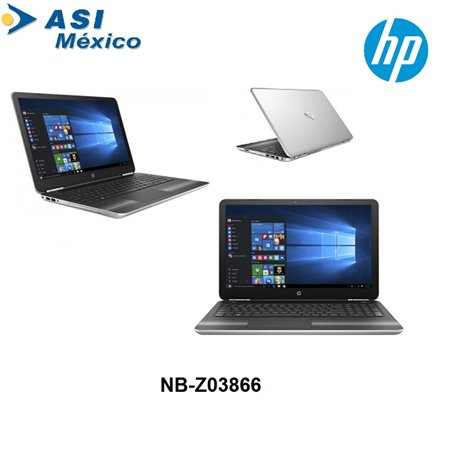 LAPTOP HP PAVILION 15-BS001LA 1GR74LAABM 15.6 LED CELERON N3060 Dual Core 1.6GHZ RAM DDR3 4GB HD500GB DVD HDMI WIN 10 HOME GIGAB