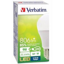 FOCO VERBATIM VB99863 LED CLASSIC LUZ DE DIA A 6500K 806LM