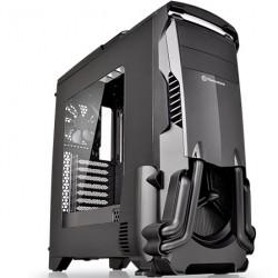 GABINETE THERMALTAKE CS VERSA N24 WINDOWS MID TOWER, ATX/MICRO-ATX/MINI-ITX USB 2.0/USB3.0 SIN FUENTE NEGRO