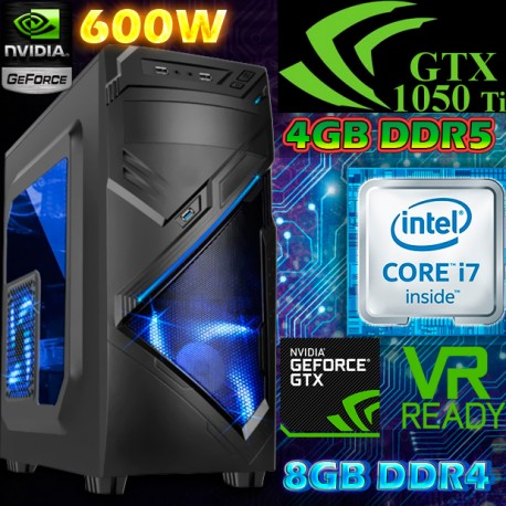 CPU GAMER CORE I7 SEXTA GENERACIÓN NVIDIA GTX-1050TI 4GB DDR5
