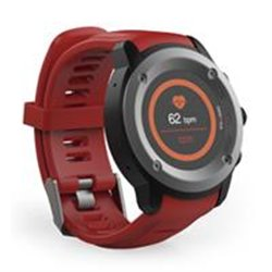 GHIA SMART WATCH DRACO /1.3 TOUCH/ HEART RATE/ BT/ GPS/GAC-072 / COLOR ROJO