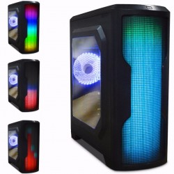 GAB ATX/MICRO ATX/MINI-ITX GAMER LED AC-914352