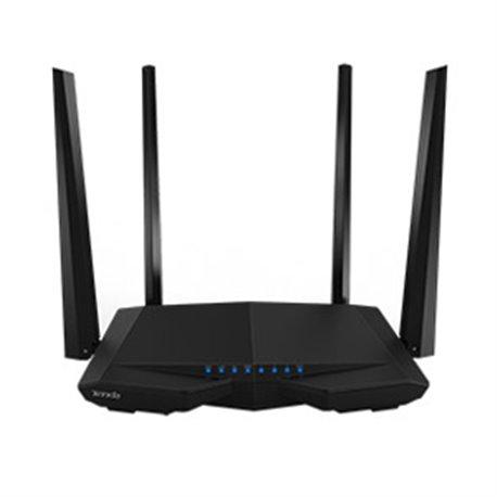 NP TENDA AC6 router AC 1200 Doble Banda AC6, Velocidad 11ac de 1167 Mbps, 5GHz a 867Mbps y 2.4GHz a 300 Mbps, chip Broadcom ofr
