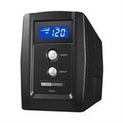 NO BREAK C/REGULADOR CYBER ENERGY 750VA UPS LCD 6CONTACTOS TEL/RED USB 2AÑOS GARANTIA LIMITADA
