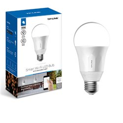 FOCO LED AHORRADOR INTELIGENTE TP-LINK LB110 WI-FI 2.4GHz, 802.11b/g/n LUZ BLANCA REGULABLE, 11W (EQ.60W)