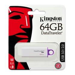 MEMORIA KINGSTON 64GB USB 3.0 DTI G4 BLANCA