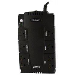 NO BREAK CYBERPOWER 425VA CP SLG UPS 8CONTACTOS TEL USB/SER 3AÑOS