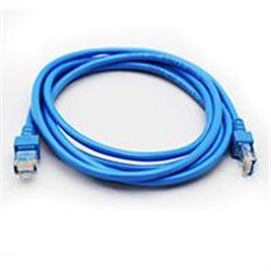 CABLE DE RED GHIA 2 MTS 6 PIES CAT 5E UTP AZUL
