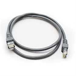 CABLE DE RED GHIA 1 MTS 3 PIES CAT 5E UTP GRIS
