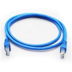 CABLE DE RED GHIA 1 MTS 3 PIES CAT 5E UTP AZUL