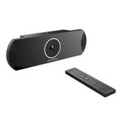 SISTEMA DE VIDEO CONFERENCIA 4K GIGABIT MULTI-PLATAFORMA, 2 SALIDAS HDMI, 2 PUERTOS USB, 1 ENTRADA HDMI, CONTROL REMOTO,WIFI,BLU