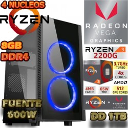 CPU GAMER AMD RYZEN 3 2200G VIDEO VEGA