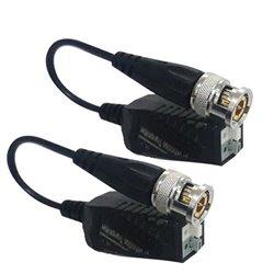 UTEPO UTP101PHD4B- PAR DE TRANSCEPTORES PIG TAIL PASIVO HDCVI / TVI / AHD / CVBS / FACIL CONEXION PUSH / 250M A 720P / 200M A 10