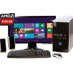 COMPUTADORA AMD A4-6300 TURBO 3.9GHZ MONITOR LED HD 18.5 4GB HDMI