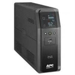 UNIDAD BACK UPS PRO BR 1100 VA, 10 TOMAS DE SALIDA, 2 PUERTOS USB DE CARGA, AVR, INTERFAZ LCD, LAM