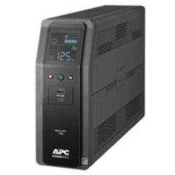 UNIDAD BACK UPS PRO BR 1350 VA, 10 TOMAS DE SALIDA, 2 PUERTOS USB DE CARGA, AVR, INTERFAZ LCD, LAM