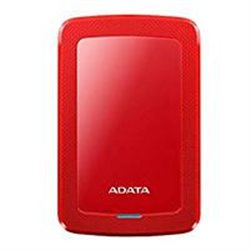 DD EXTERNO 2TB ADATA HV300 DASHDRIVE SLIM 2.5 USB 3.1 ROJO WINDOWS/MAC/LINUX