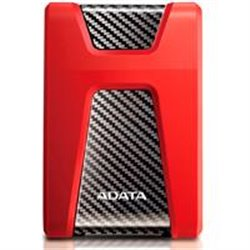 DD EXTERNO 1TB ADATA HD650 2.5 USB 3.1 CONTRAGOLPES ROJO WINDOWS/MAC/LINUX