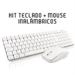 TECLADO/MOUSE COMBO INALAMBRICO COMPACTO GT4000WG GHIA / COLOR BLANCO